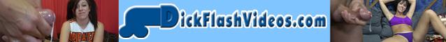 DickFlashVideos.com - CFNM Dick-Flashing Cumshots with Sexy Brats