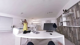 Luci tia porn - Virtualtaboo.com busty sister lucy cleans room and bro s dick