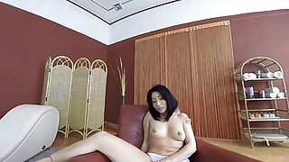 Pierced asian girl Virtualporndesire - asian hottie tries out her new sex toys