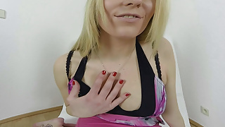Fourth degree sexual assault desription - 180 degree pussy masturbation from blonde babe vr