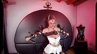 Princess donna porn Vrcosplayx big titted princess adora will do anything