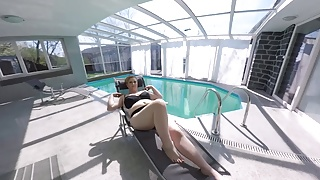 Masturbation doesnt feel good anymore Horny bbw milf feels so good at the pool