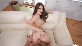 18VR.com Screwing Lana Seymour's Tight Asshole