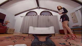 Carol tiggs sex energy - Badoinkvr releasing sexual energy with redhead scarlett mae