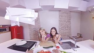Dane cook you porn - Virtualrealporn.com - cooking lesson
