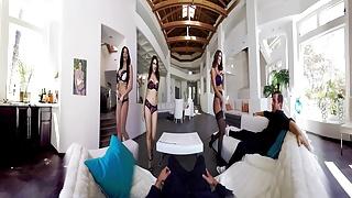 Pov sex porn Badoinkvr.com amazing group sex - a 360 experience