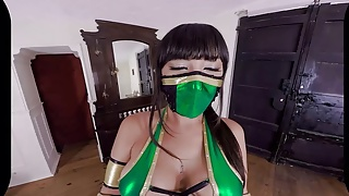 Gerbal x porn Vr cosplay x threesome with jade and kitana vr porn