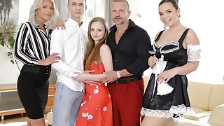 VirtualTaboo.com Family Chronicles new maid is great BBGGG