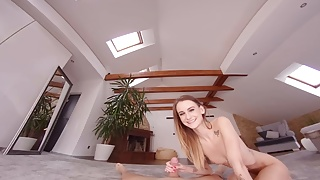 SexBabesVR - 180 VR Porn - From Shower To Bed with Adelle Un