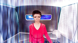 Explorer free internet porn Vrcosplayx star trek a xxx helps you exploring tpol s pussy