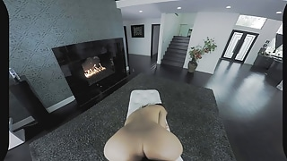 VR Petite Stranded Teen Gets DESTROYED POV on BaDoinkVR.com