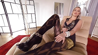 Real pantyhose pics Ddfnetwork vr - nikky dream pantyhose beauty in virtual real