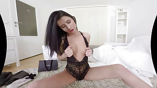 Designer clothes porn Tmwvrnet -nicole black- brunette and your new clothes
