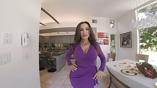 Lisa parks porn Wetvr lisa ann first ever vr scene on thanksgiving