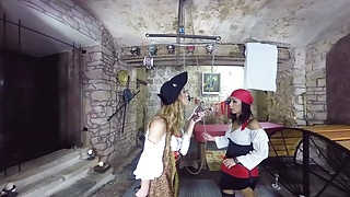 Pirate magazine covers porn Lesbian pirates in action