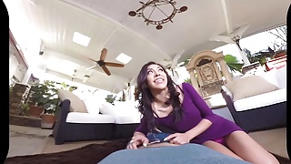 Virtual cumshot Badoinkvr virtual reality pov latina babes compilation pt. 2