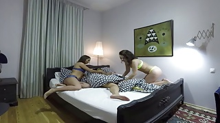 Sleep vision porn Full vercion sleeping girl gets groped by horny lesbians