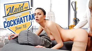 Maid On Cockhattan VR Conk