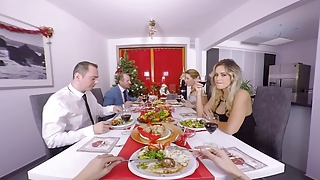 Male christmas porn Reality lovers - the christmas dinner with vittoria dolce