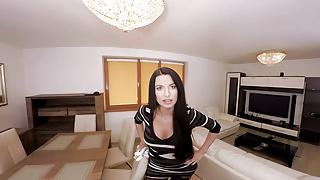 Busty mom son gallery - Virtualtaboo.com sexy busty mom ania fucks lucky son