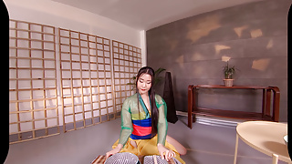 Mulan pornstar Vrcosplayx horny mulan is waiting for your cock li