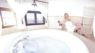 Monk natalie teeger porn Virtualtaboo.com super sexbomb milf nataly taking big bath