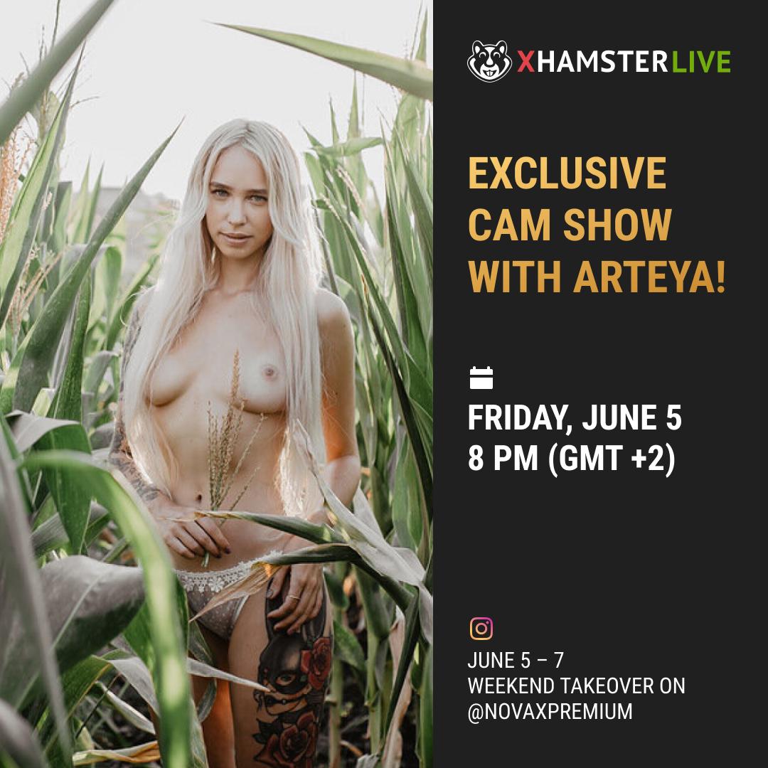 Exclusive Cam Show with Arteya Dee on xHamsterLive